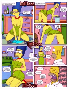 Goodcomix The Simpsons - [MilfToon] - Ban from the bar xxx porno