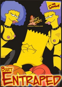 Bart Entraped - 00_Cover
