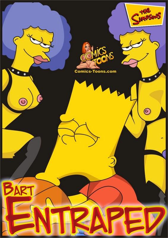 Goodcomix The Simpsons - [Comics-Toons] - Bart Entraped xxx porno