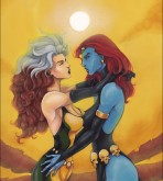 X-Men — Destiny (Mystique,Rogue) xxx porno