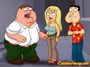 Goodcomix Family Guy - Piter & Quagmire Fucks Jillian xxx porno