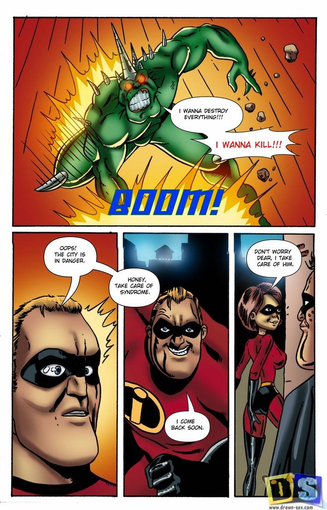 Goodcomix The Incredibles - [Drawn-Sex] - Family Have Fun xxx porno