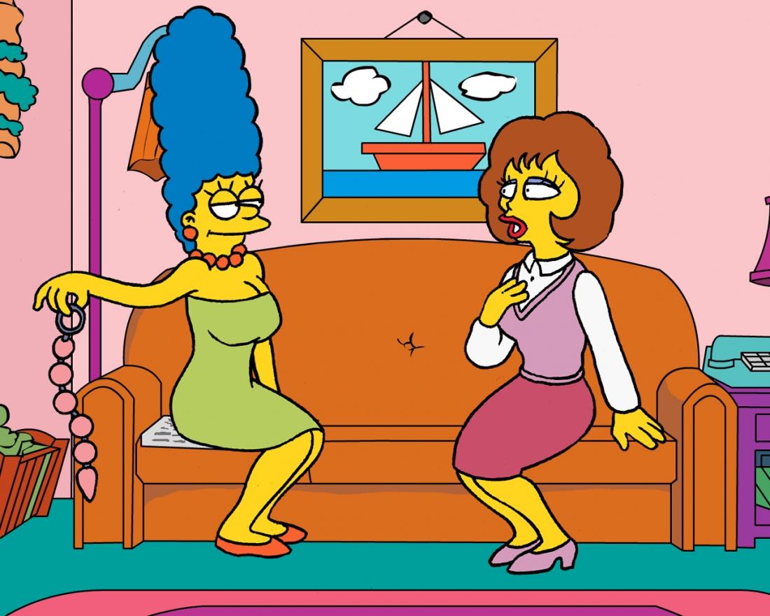 Goodcomix The Simpsons - Flander's Invasion.2 xxx porno