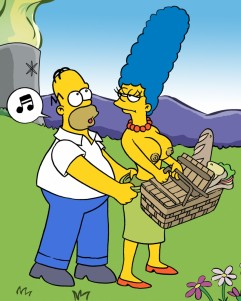 "Goodcomix The Simpsons - Homer And Marge.1 - ""Picnik'' xxx porno"
