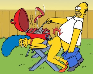 "Goodcomix The Simpsons - Homer And Marge.2 - ""Barbecue'' xxx porno"