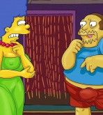 The Simpsons — [Comics-Toons] — Homer & Jeff Albertson Fucks Marge xxx porno