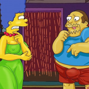 Homer & Jeff Albertson Fucks Marge - 001