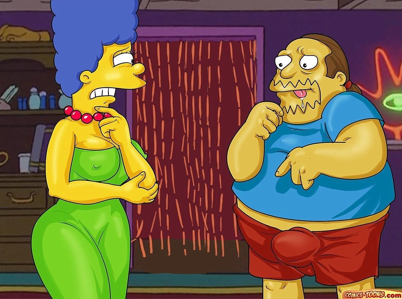 Goodcomix The Simpsons - [Comics-Toons] - Homer & Jeff Albertson Fucks Marge xxx porno