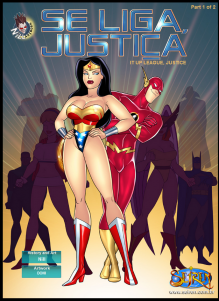 Goodcomix Justice League - Se Liga Justica - It Up League, Justice (Part1&Part2) xxx porno