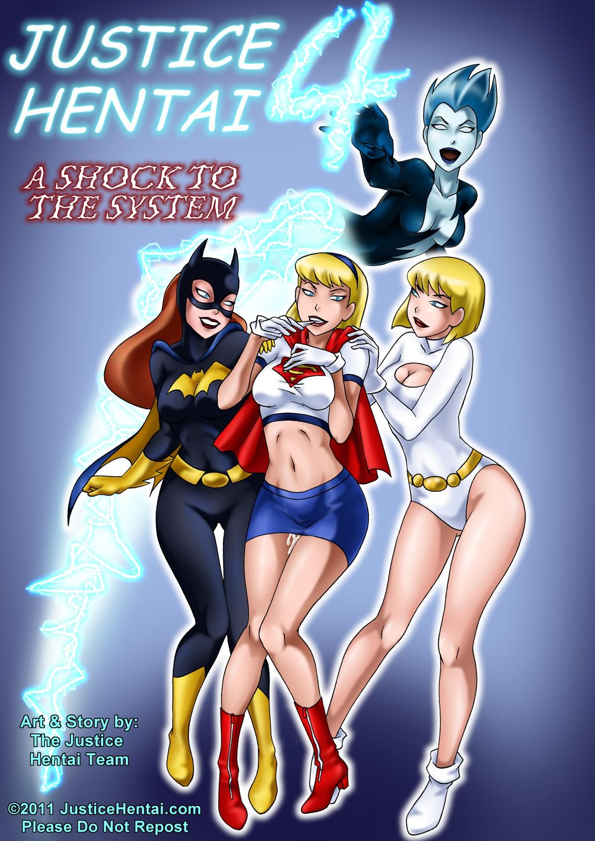 Goodcomix Justice League - Justice Hentai -Vol.4-