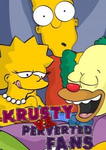 Krusty Vs Perverted Fans - 00_Cover