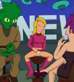 Futurama — Morbo and Linda Fuck Leela xxx porno