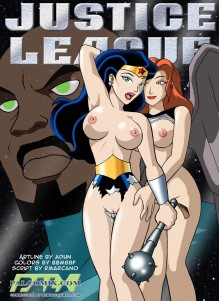 Goodcomix Justice League - [Palcomix] - Wonder Woman x HawkGirl xxx porno