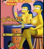 The Simpsons — Los Simpsons Viejas Costumbres.3 «Recordando a mama»  xxx porno