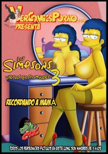 "Goodcomix The Simpsons - Los Simpsons Viejas Costumbres.3 ""Recordando a mama''  xxx porno"