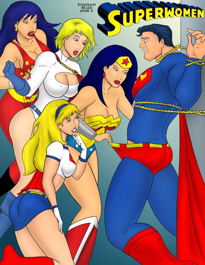 Goodcomix Justice League - Superwomen xxx porno