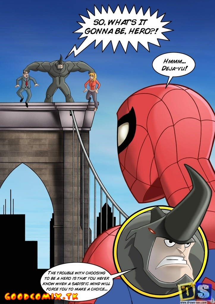 Goodcomix.tk Spider-Man - [Drawn-Sex] - Thanks xxx porno