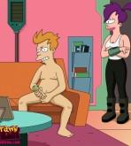 Futurama — [Drawn Hentai] — Fry Fuck Leela xxx porno