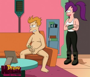 futurama lela gets fuck