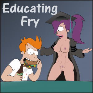 Goodcomix Futurama - Educating Fry xxx porno