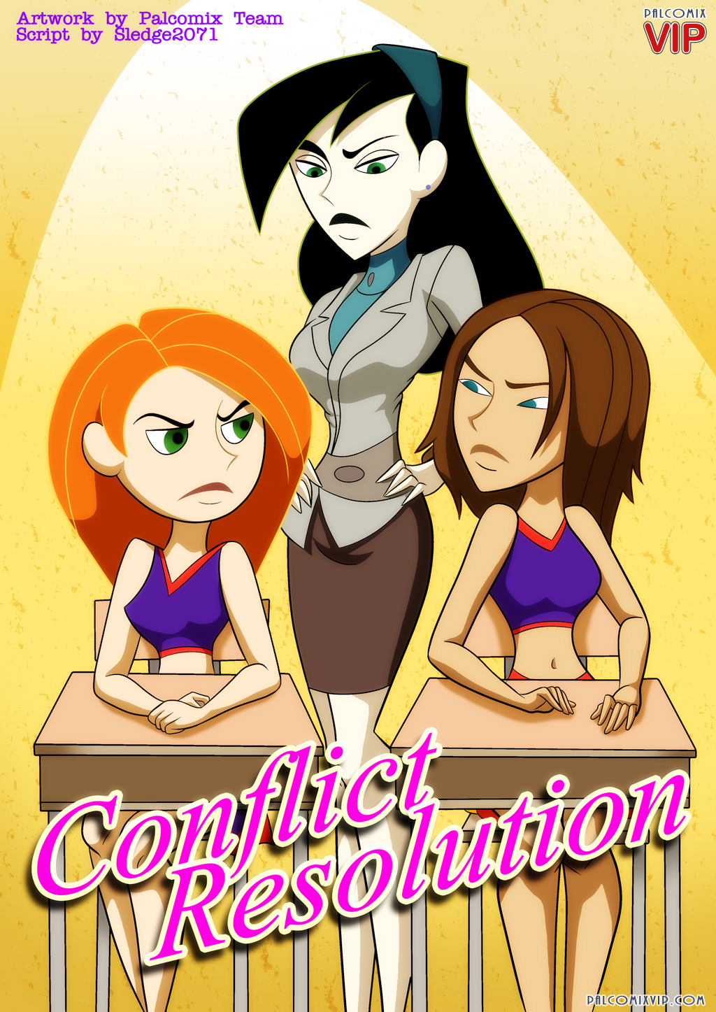 Goodcomix Kim Possible - [Palcomix] - Conflict Resolution xxx porno