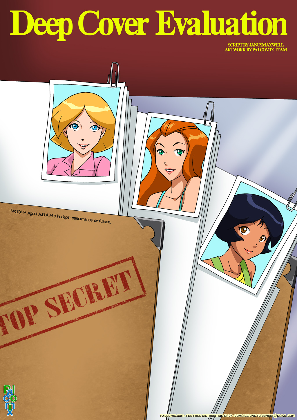 Goodcomix Totally Spies - [Palcomix] - Deep Cover Evaluation xxx porno