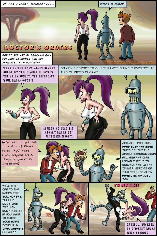 Futurama — Doctor's Orders xxx porno