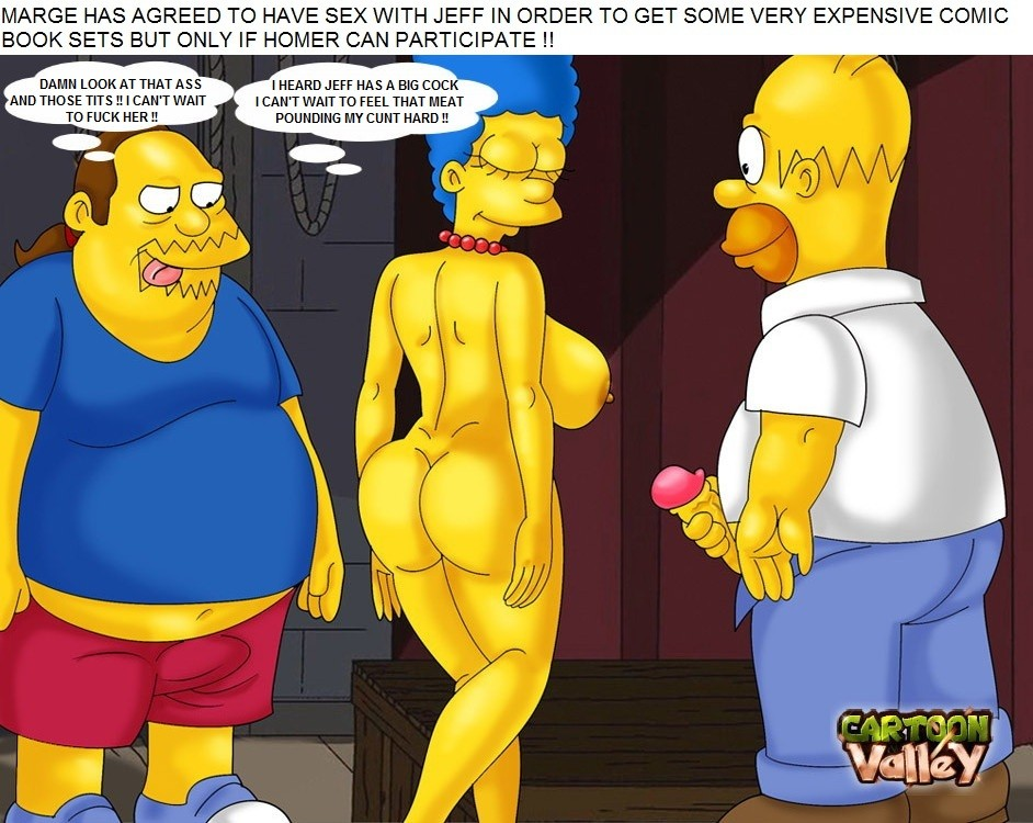 Goodcomix The Simpsons - [CartoonValley] - Homer & Jeff Albertson Fucks Marge 2