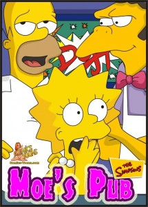 Goodcomix The Simpsons - [Comics-Toons] - Moe's Pub xxx porno