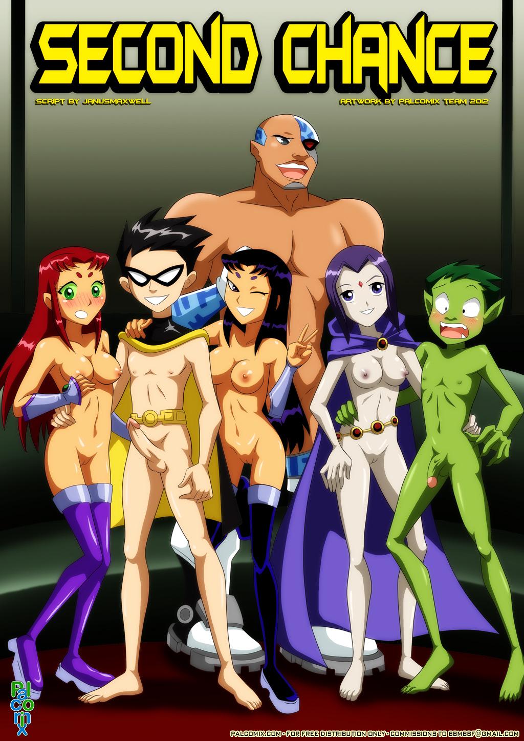 Goodcomix The Teen Titans - [Palcomix] - Second Chances FULL xxx porno