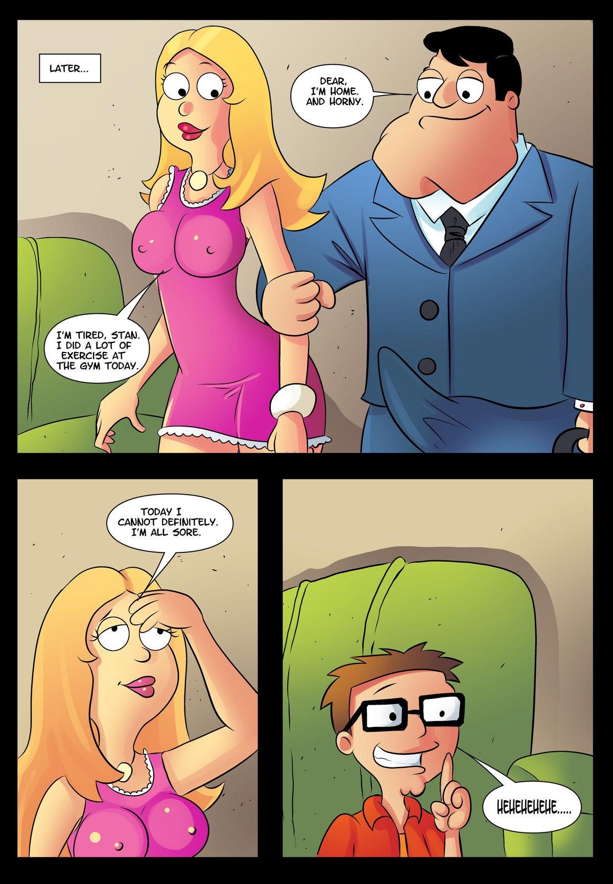 Goodcomix American Dad - [Drawn-Sex] - Son Help xxx porno
