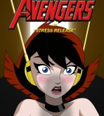 Justice Ligue — The Avengers — Stress Release xxx porno