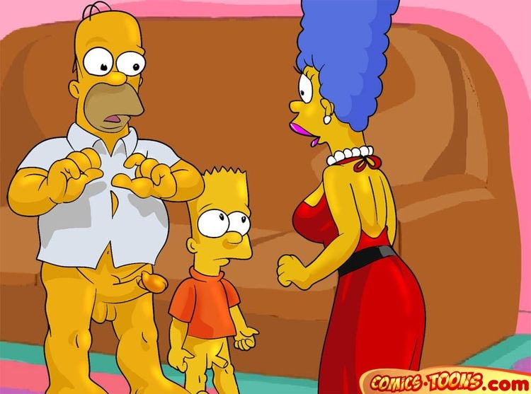 Goodcomix The Simpsons - [Comics-Toons] - Such a Beautiful Marge xxx porno