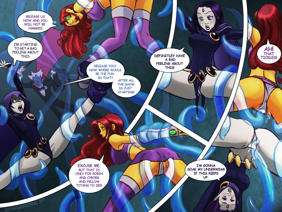 Goodcomix The Teen Titans - Tentacled Titans xxx porno