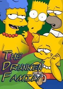 Goodcomix The Simpsons - [Comics-Toons] - The Drunken Family xxx porno