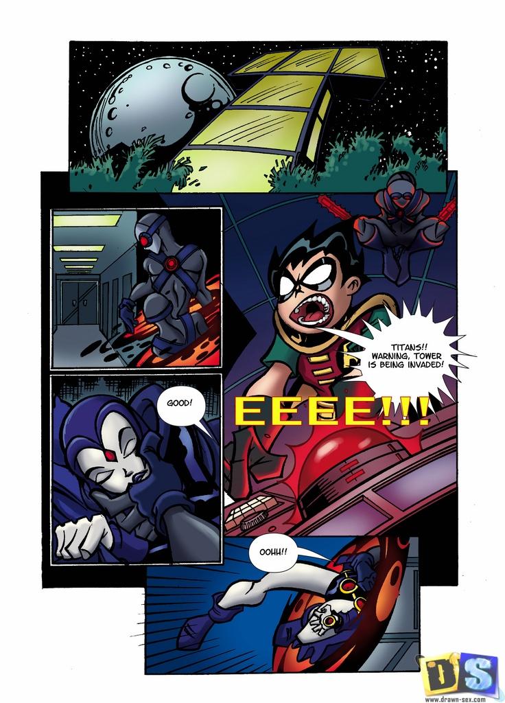 Goodcomix The Teen Titans - [Drawn-Sex] - The Evil Raven xxx porno