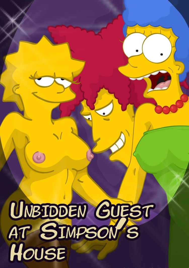 Goodcomix The Simpsons - [Comics-Toons] - Unbidden Guest At Simpsons House xxx porno
