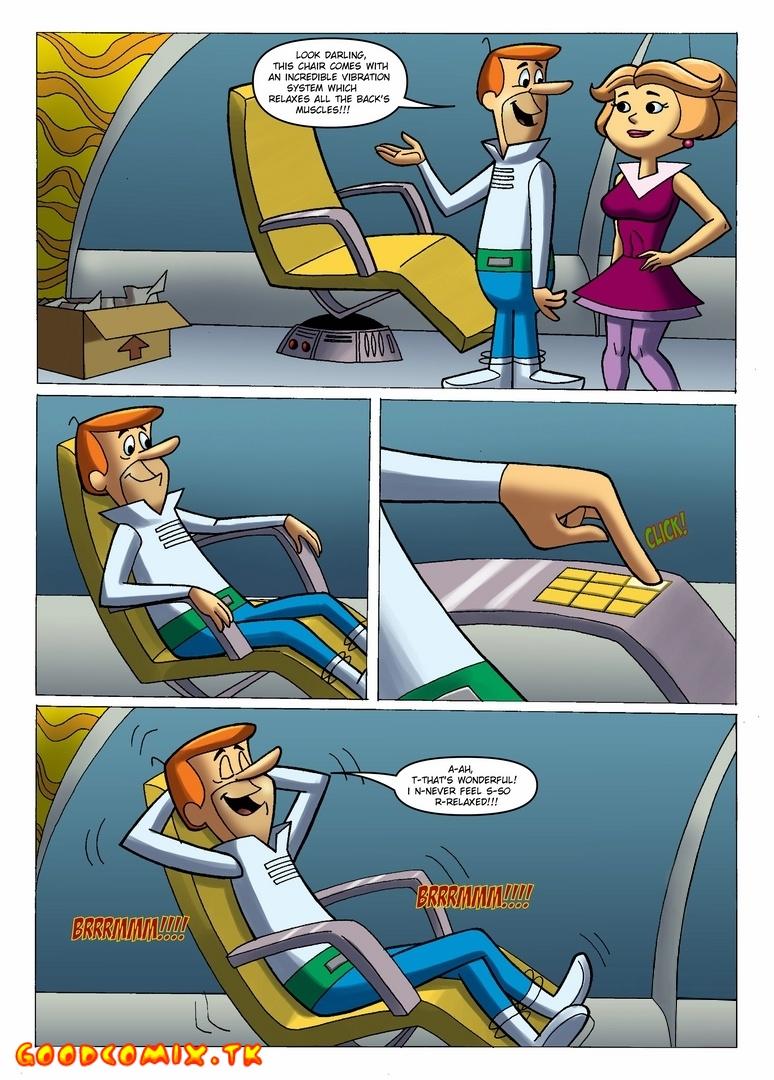 Goodcomix The Jetsons - [Cartoonza] - Vibro Chair For Fucking xxx porno