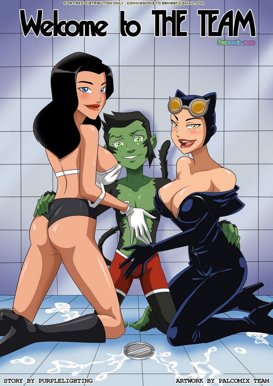 Goodcomix The Teen Titans - [Palcomix] - Welcome To The Team xxx porno