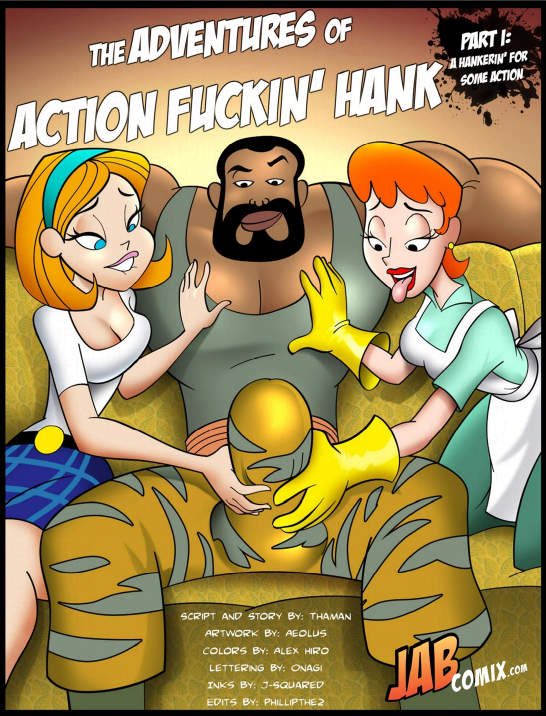Goodcomix Dexter's Laboratory - [Jabcomix] - The Adventures Of Action Fuckin Hank Part.1 xxx porno