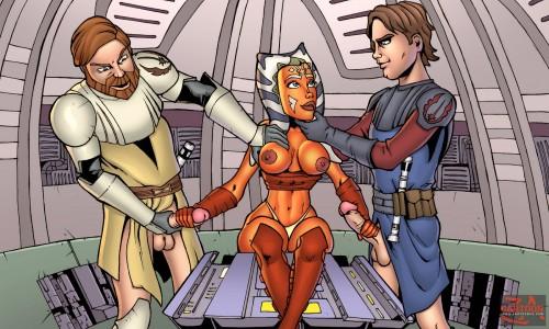 Goodcomix Star Wars - [Cartoonza] - Beautiful Ahsoka Tano xxx porno