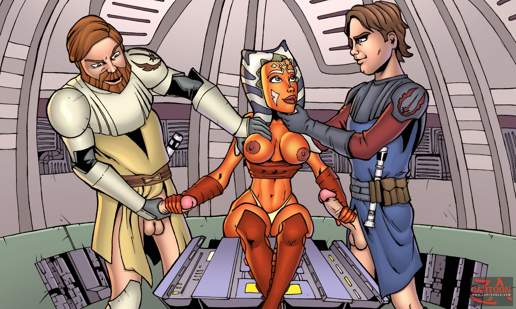 Star Wars — [Cartoonza] — Beautiful Ahsoka Tano xxx porno