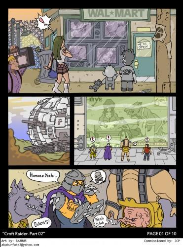 Goodcomix Teenage Mutant Ninja Turtles - [Akabur] - Croft Raider 2 xxx porno
