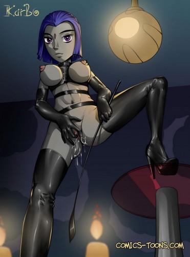 Goodcomix The Teen Titans - [Karbo] - Girls Alone xxx porno