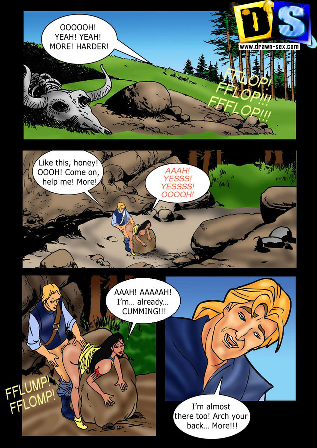 Pocahontas — [Drawn-Sex] — Save Prisoner xxx porno