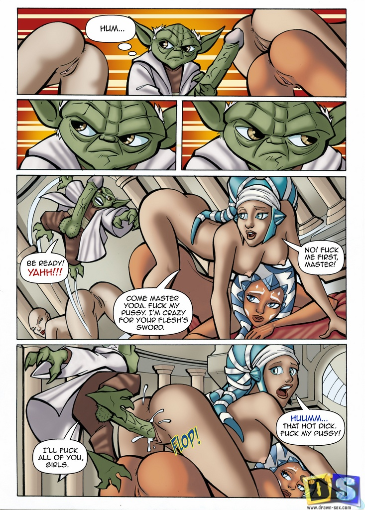 Goodcomix Star Wars - [Drawn-Sex] - Star Expedition xxx porno
