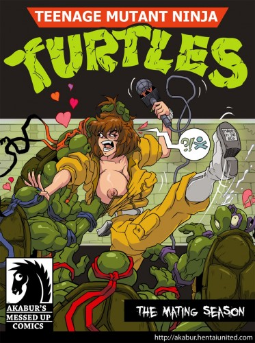 Goodcomix Teenage Mutant Ninja Turtles - [Akabur] - The Mating Season xxx porno