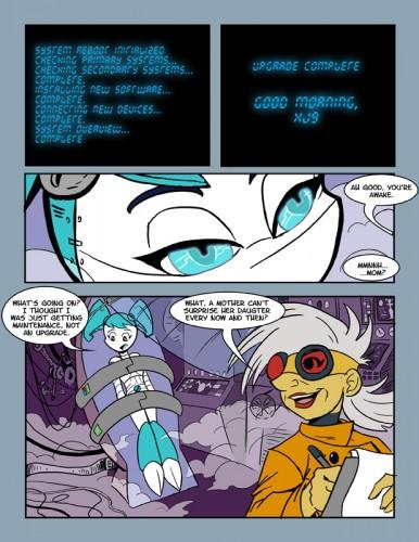 Goodcomix My Life As a Teenage Robot - Upgrade xxx porno