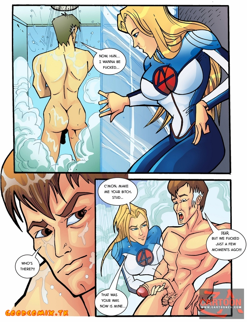 Goodcomix.tk Fantastic Four - [Cartoonza] - A Real Four xxx porno