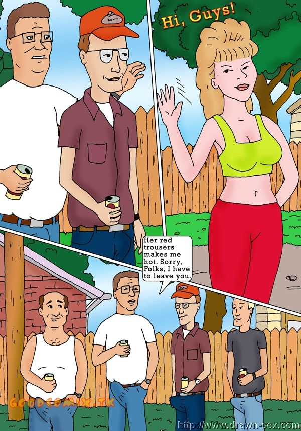 King of The Hill — [Drawn-Sex] — Bitch's of The Hill xxx porno